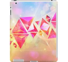 Background of 3d Triangles iPad Case/Skin