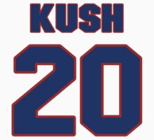 National baseball player Emil Kush jersey 20 by imsport