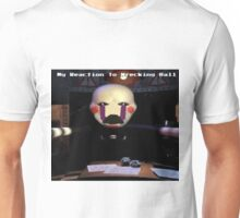 My Reaction to Wrecking Ball Unisex T-Shirt