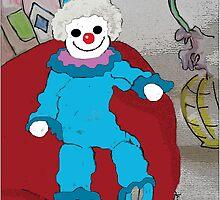 Bozo the Clown by GloriaDK
