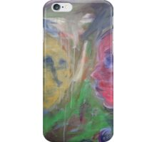 Abstract Faces iPhone Case/Skin