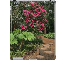 Riverside Gardens, Somerset iPad Case/Skin