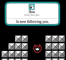 Boo is now following you! by Alessandro Bianco
