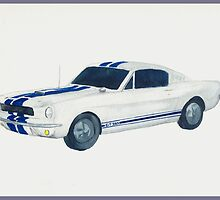 1969 Shelby Mustang by kathysgallery
