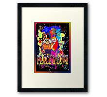 Peace & Love Framed Print