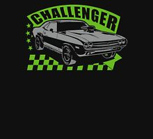 Dodge Challenger | Grey - Green Unisex T-Shirt