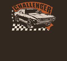 Dodge Challenger Vintage | Brown Unisex T-Shirt