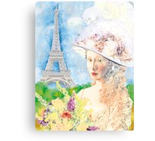 BELLE PARISIENNE Canvas Print