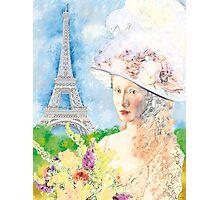 BELLE PARISIENNE Photographic Print