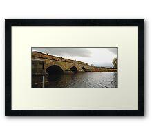 Ross Bridge Series #2 (Built 1836), Ross Tasmania Framed Print