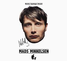 Mads Mikkelsen Womens Fitted T-Shirt