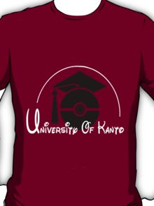 Pokemon 'University of Kanto' T-Shirt