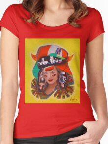 Native  Women's Fitted Scoop T-Shirt