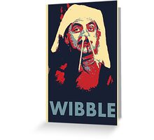 Wibble Greeting Card