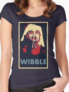 Wibble Women's Fitted Scoop T-Shirt