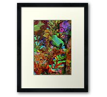 Angel Fish Framed Print