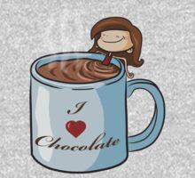 Hot Chocolate One Piece - Long Sleeve
