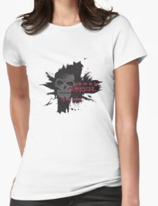 Darkside Cookies Womens Fitted T-Shirt