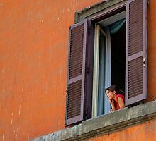 Girl In The Window - Rome by 2Andys