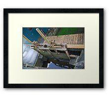 A WATER GATE Framed Print