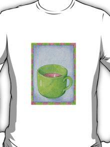 Tea in Green T-Shirt