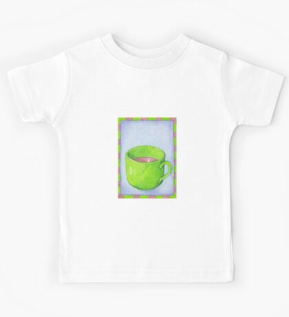 Tea in Green Kids Clothes