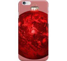 Chrismas Ball Earth iPhone Case/Skin