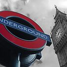 Big Ben and Underground by 2Andys