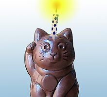 Lucky Cat by marlowinc