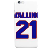 National baseball player Denny Walling jersey 21 iPhone Case/Skin