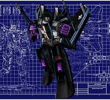 Masterpiece Skywarp by Draconis130