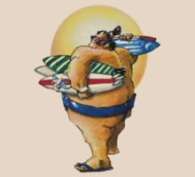 Sumo Surfer II by Paul  Reynolds