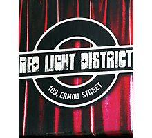 Red Light Photographic Print