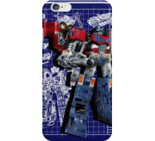 Cybertron Super Optimus Prime iPhone Case/Skin