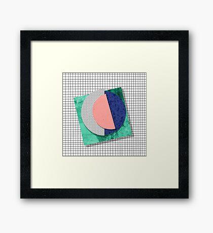 Memphis Framed Print