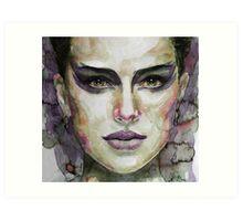 Black Swan - Natalie Portman Art Print