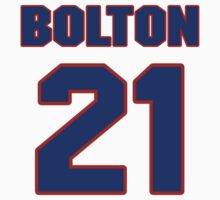 National baseball player Cliff Bolton jersey 21 by imsport