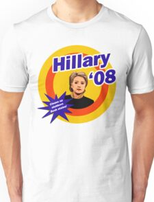 Hillary Clinton The White House Detergent Unisex T-Shirt