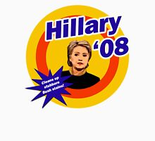 Hillary Clinton The White House Detergent Womens Fitted T-Shirt