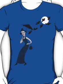 Weird woman with midnight bats T-Shirt