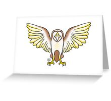Triforce Owl Greeting Card