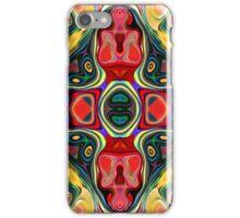 Abstract Shapes Mandala iPhone Case/Skin