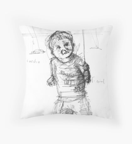 Where is Q22? Throw Pillow