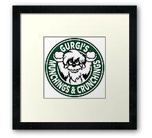 Gurgi's Munchings & Crunchings Framed Print