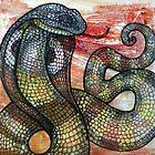 King Cobra by Lynnette Shelley