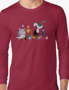 Ghibli Friends  Long Sleeve T-Shirt