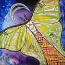 Luna Moth by Lynnette Shelley