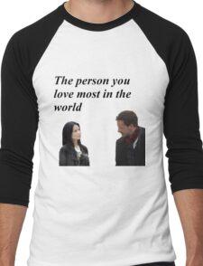 Joan and Sherlock Men's Baseball ¾ T-Shirt