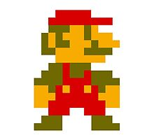 Pixel retro mario by Rooru1