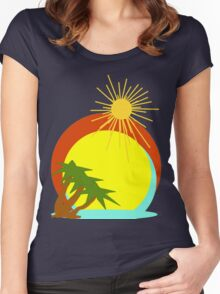Destination Tee Women's Fitted Scoop T-Shirt
